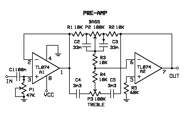 fender scn pickup wiring diagram rangkaian pre amp equalizer   it s elektro time  rangkaian pre amp equalizer   it s elektro time