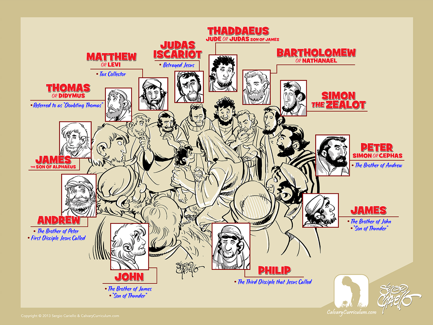 The 12 Disciples Poster, Check Out The 12 Disciples Poster ...