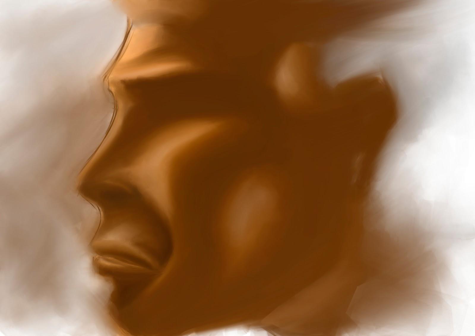 Croquis  / speed painting Brown+profil