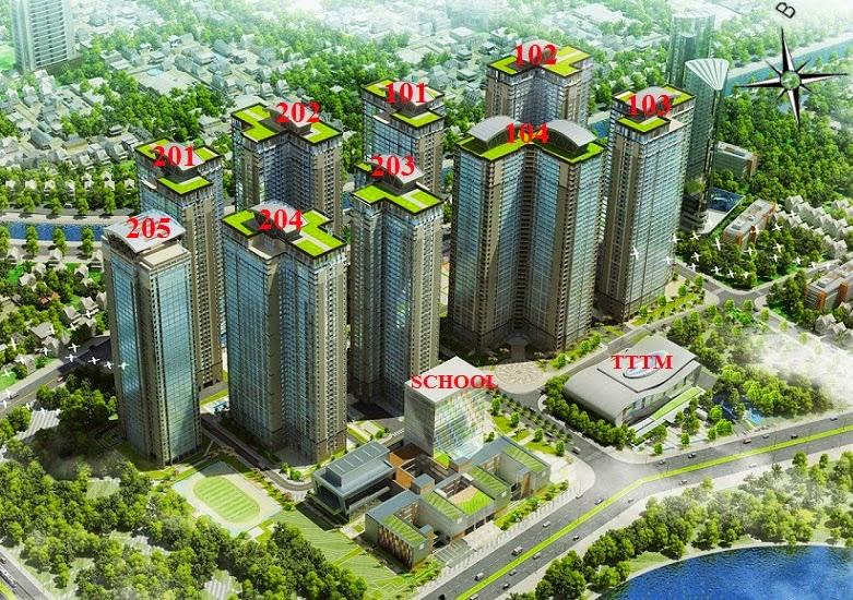 Chung Cư Goldmark City Tòa 8018229