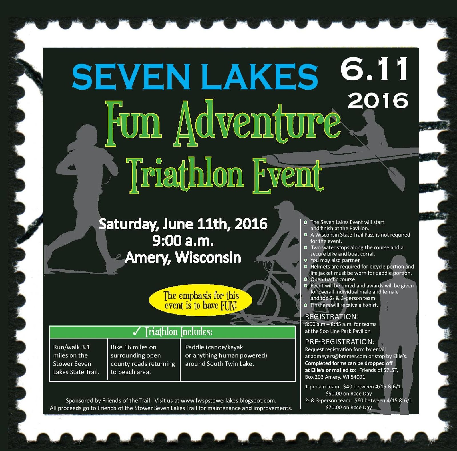 Fun Adventure Triathalon