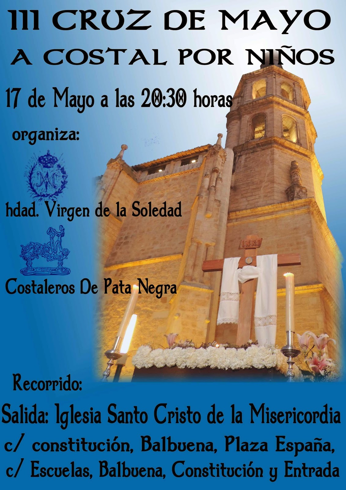 Salida Cruz de Mayo