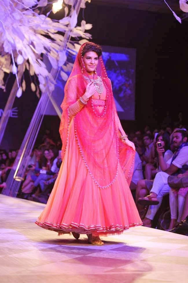 Jacqueline Fernandez at Lakme Fashion Week Summer Resort 2014