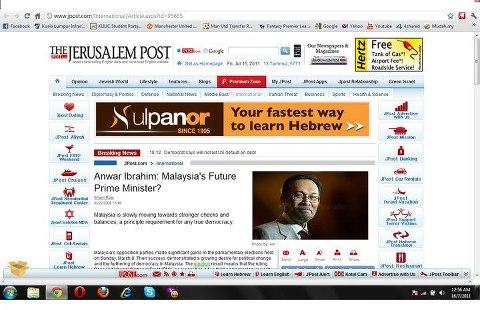 Malaysia's Future PM - JPOST