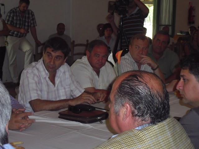 REUNION DEL COMITE DE CUENCA EN LA MATERA
