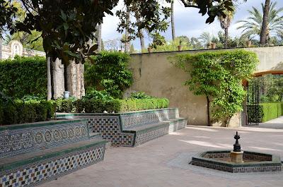 Séville - jardins de l'Alcazar