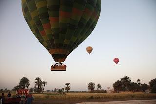 Egypt Balloon Flight over Luxor