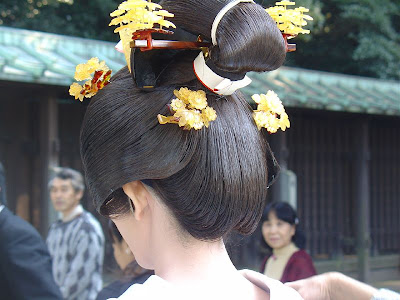 Traditional Japanese Wedding Hairstyles Picture