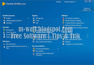 TU2012 4 Free Download TuneUp Utilities 2012 with Serial Key