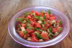 Feta + vannmelon