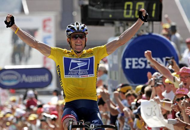 a biography of lance armstrong the winner of seven tour de france titles Lance armstrong accused of epo doping has discovered that lance armstrong, seven times winner of the tour de and the tour de france all agree normal.