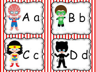 Super Hero Word Wall Letters Or For Whatever Your Heart Fancies And If You Like Them Be Sure To Keep Eyes Out My Classroom Labels