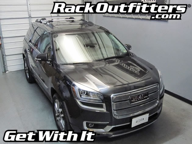 This Thule AeroBlade EDGE Multi Purpose Base Roof Rack Is A Perfect Fit For  The 2010, 2011, 2012, 2013 And 2014* GMC Acadia With Raised Rails That Run  Front ...