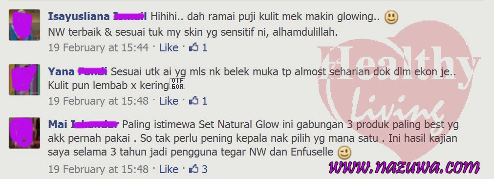 TESTIMONI Kulit Makin Glowing Dengan Set Natural Glow