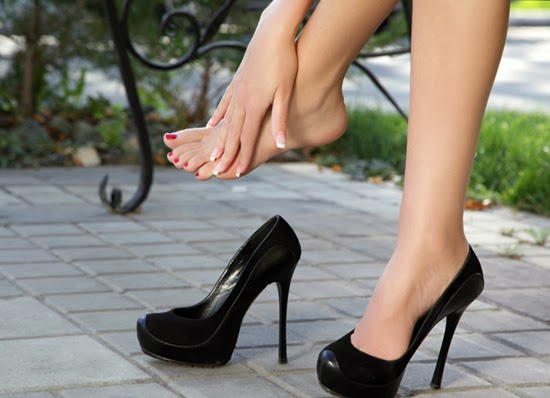 Dermal fillers for feet