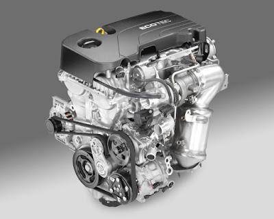 Υπέρ-αποδοτικός 1.4 Turbo,  αλουμινένιος, τετρακύλινδρος βενζινοκινητήρας τελευταίας γενιάς στο νέο Astra