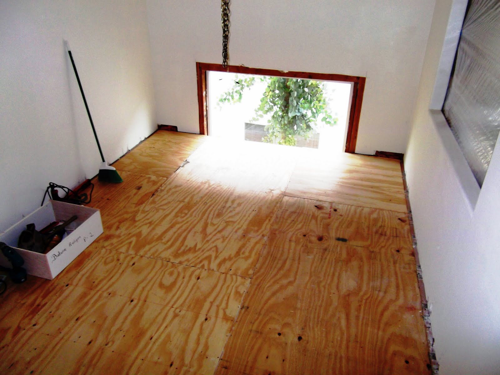 A proper tea room finished floor