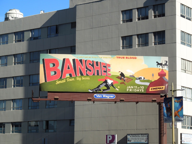 Banshee TV show billboard