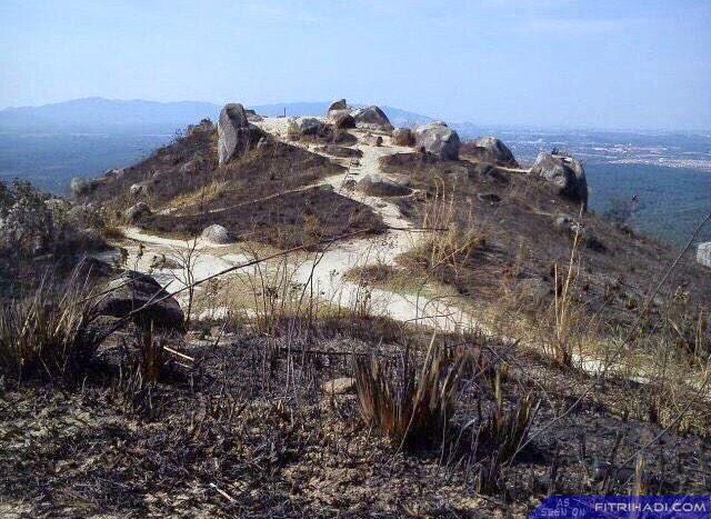 (Gambar) Broga Hill Selepas Kebakaran Petang 9 Februari 2015