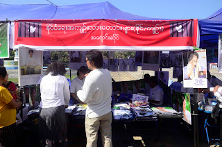 >Former Political Prisoners joined Suu's Education Fund Fair