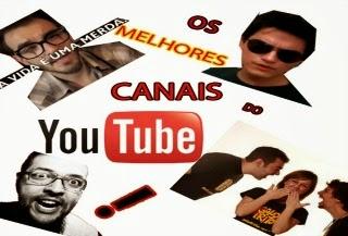 os melhores canais populares do youtube