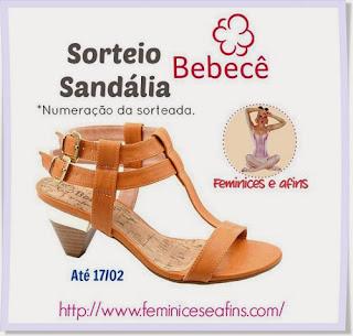 Sorteio Bebecê
