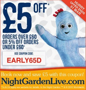 Night Garden Live
