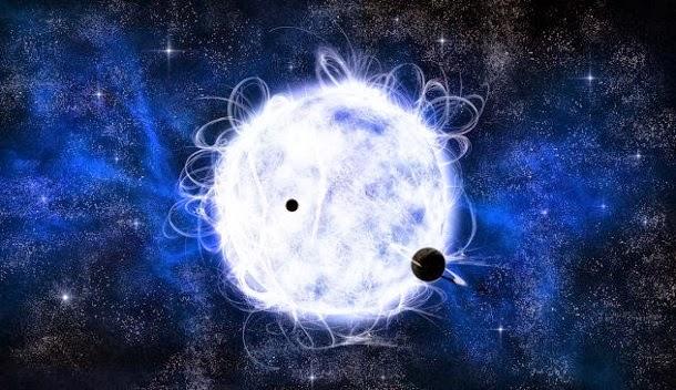 As duas estrelas metálicas de chumbo-pesados