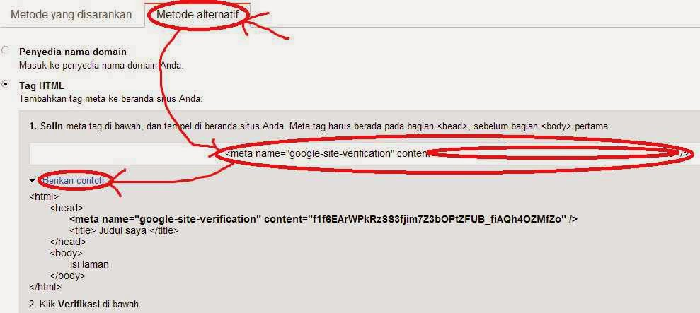 Mendaftarkan Blog ke Google Webmaster