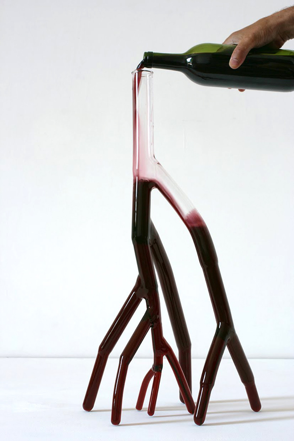 Unique Wine Carafes Etienne Meneau
