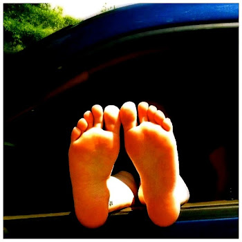 Bare Feet Love Open Windows!