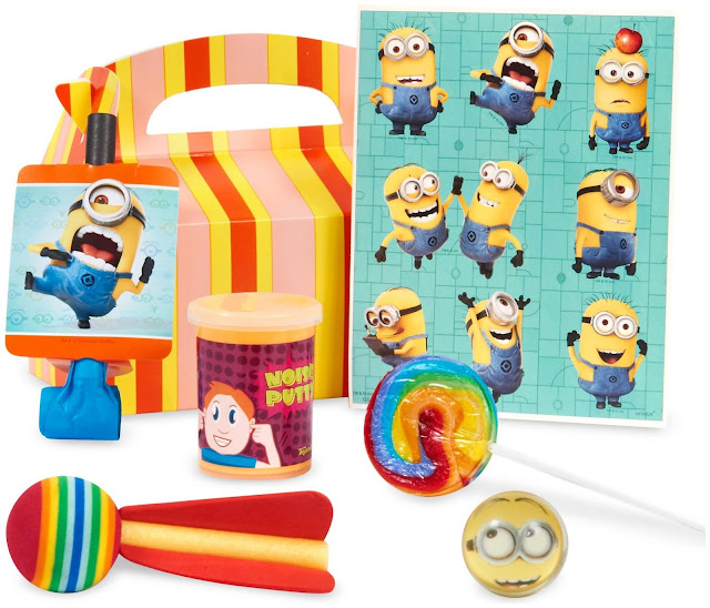 minion favor box