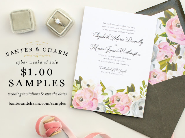 Invitation sample sale