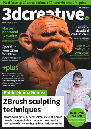 3D Creative Magazine Issue 105 May 2014