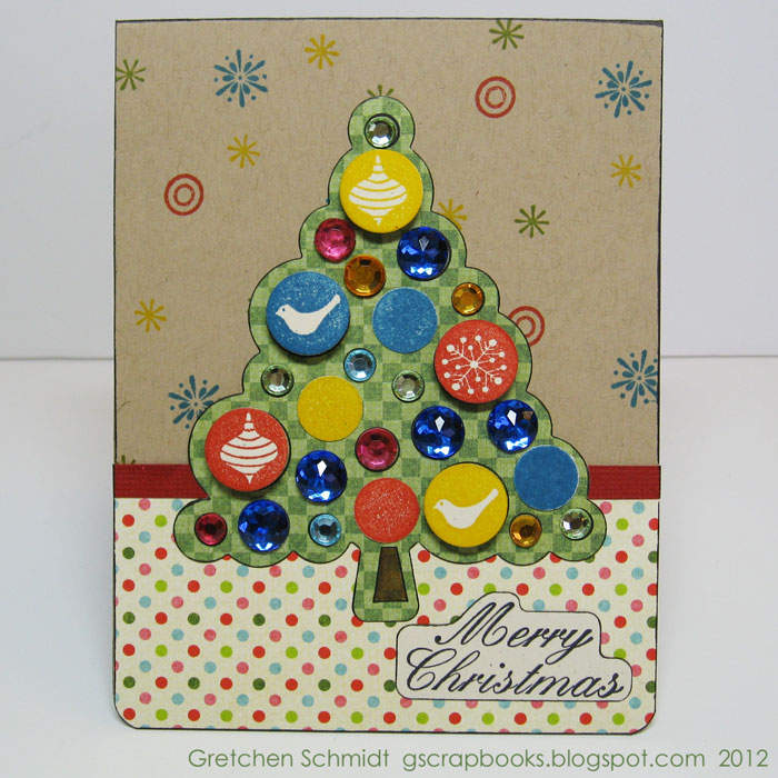 Sparkly Merry Christmas Card Tutorial / Sizzix Blog - The Start of ...
