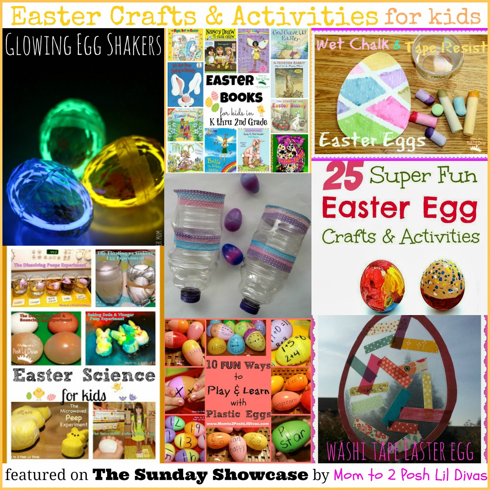 March crafts for kindergarten - Easter Crafts Activities For Kids The Sunday Showcase 3 23 14