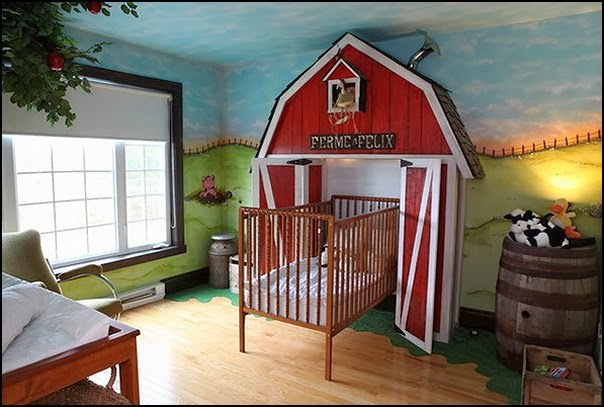 Farm Theme Baby Bedroom Decorating Ideas