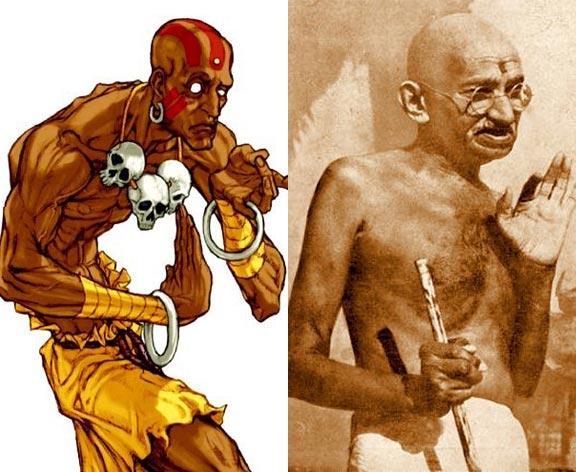 Dhalsim-Gandhi