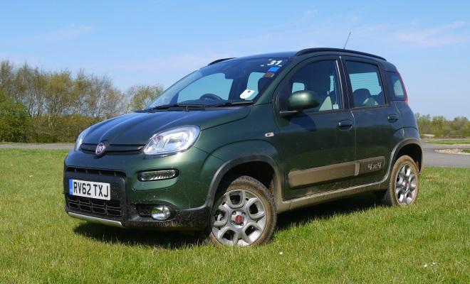 Fiat Panda 4x4 front view