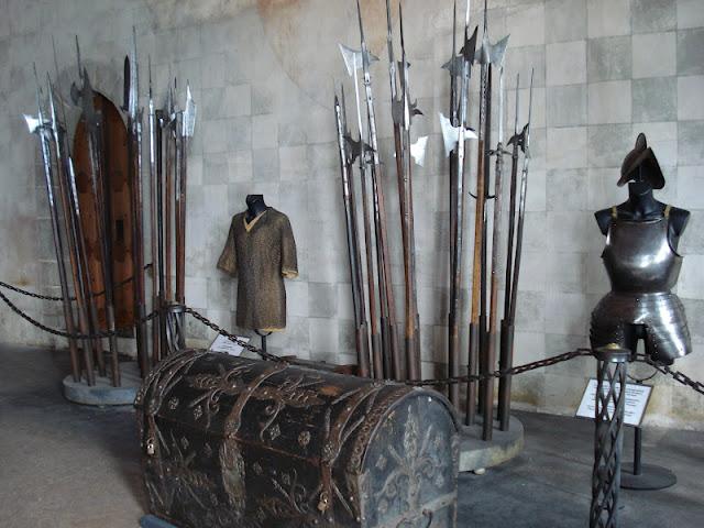 SUIZA: El castillo de Chillon