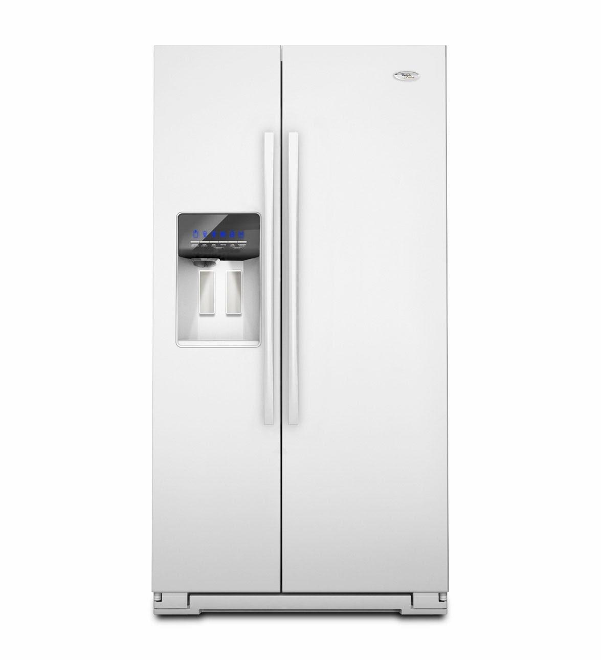 Whirlpool Refrigerator Brand Gsf26c4exw Gold White