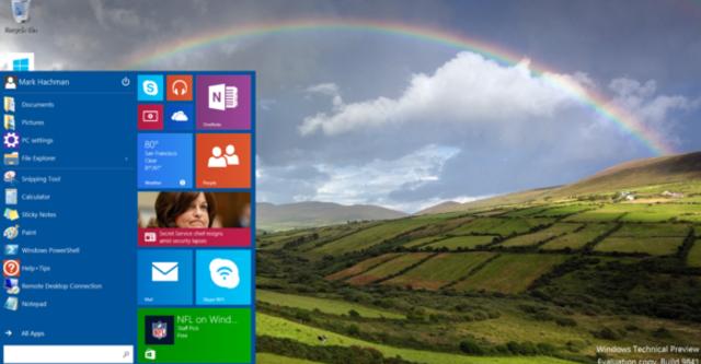30 phút đầu tiên trải nghiệm Windows 10