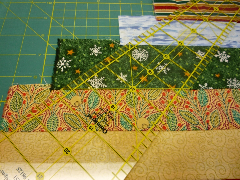 north winds quilting: Circle Wedge Tree Skirt, Part 2 : circle ruler for quilting - Adamdwight.com