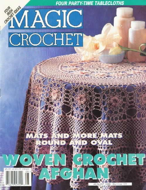 Magic Crochet No. 121 ~ Free Crochet Patterns