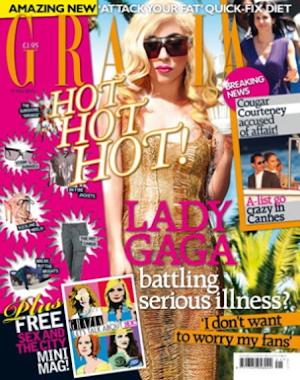 LADY GAGA GRACIA MAGAZINE COVER