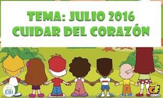 Tema del mes de Julio 2016