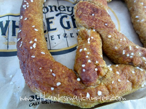 Auntie Anne's Honey Whole Grain pretzel