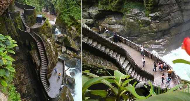 Canyon Steps, Ekuador