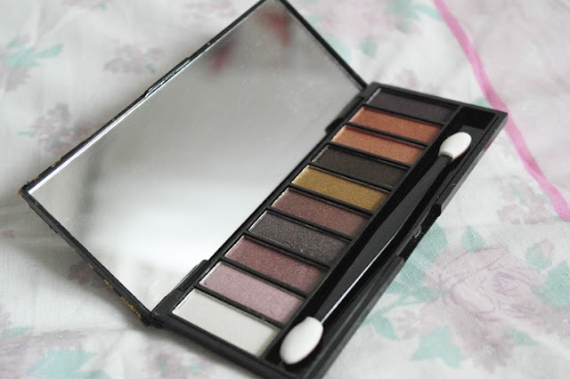 Pink Tease Neutral Brown/Golds Eyeshadow Palette Review & Swatches