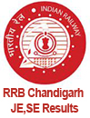 RRB Chandigarh JE written exam Results 2013